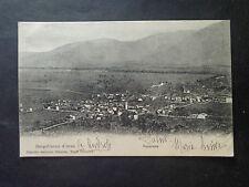 CARTOLINA BORGOFRANCO D' IVREA PANORAMA VIAGGIATA 1903 RARA NUMIS SUBALPINA