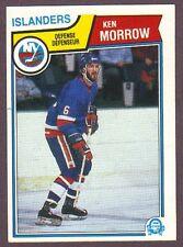 1983-84 OPC O-Pee-Chee Hockey Ken Morrow #13 NY Islanders NM/MT