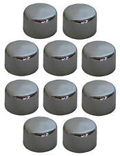 "Chrome Allen Bolt Covers Allen Bolt Toppers Chrome Bolt Caps 5/16"" (10 PACK)"