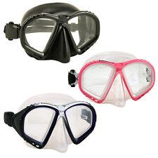 Promate Scuba Snorkeling Spearfishing Free Skin Diving Purge Mask