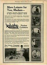 1915 AD Cookstove Fireless Caloric Aluminum-Lined Junior $8.00 Ventilating Valve