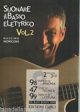 Suonare il basso elettrico - Volume 2 - MASSIMO MORICONI - METODO PER BASSISTI