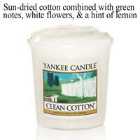 YANKEE CANDLE Votive Sampler ANY 6 GET 7th FREE scented small fresh fruit