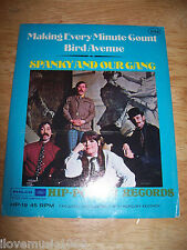 """RARE NEW 1968 Spanky and Our Gang 4"""" HIP Making Every Minute Count/Bird Avenue"""