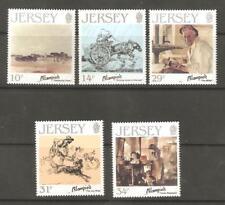 1986 Jersey-SG 397/401-Jersey artistas-Edmund blampied-Umm