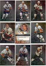 1998-99 ITG BAP Be A Player Complete Signature New York Islanders Team Set (10)