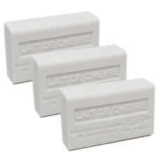 French Soap-Traditional-Savon de Marseille- 3 x 125g -Goats Milk-Shea Butter