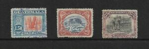 Guatemala - Small Selection of 1920's Stamps - Used.