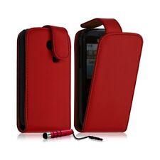 Housse coque etui pour Samsung Chat 335 S3350 couleur rouge + Mini Stylet