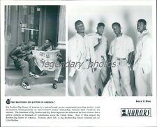 Portrait of R and B Group Boyz II Men Original News Service Photo