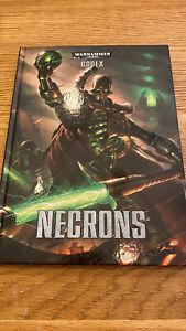 Games Workshop Warhammer 40,000 Codex: Necrons Book