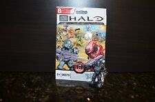 Halo Mega Bloks Series 8 UNSC Stealth Gray Spartan Soldier UR  # 96978 SEALED