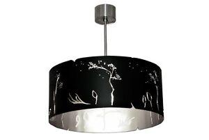 Modern Black Ceiling Lamp Unique Contemporary Cool Designer Handmade Light Steel