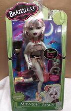 Bratzillaz Glam Gets Wicked Doll Midnight Beach Sashabella Paws Nib Glow n Dark