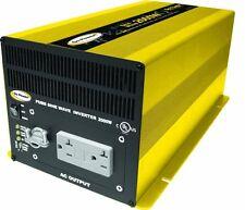New Go Power! GP-SW2000-24 2000 Watt Pure Sine Wave Inverter 24 Volt