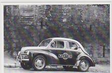 carte postale - RENAULT 4CV - TOUR DE FRANCE 1955 - MARTINI - RUE DE L'ABREVOIR