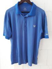 Wilson Staff Golf Polo XL in brilliant blue.