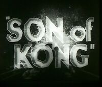 Son of Kong 1933 Lot 165+ mounted film cells slides from the original movie