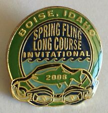 Spring Fling Long Course Invitational Pin Badge Boise Idaho 2008 Sports (E5)