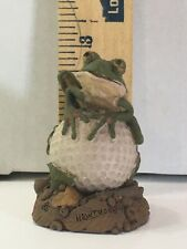 Tim Wolfe Hawthorn The Frog Figurine Cast By Cairn Studio