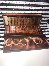 Urban Decay Naked Heat Eye Shadow Palette Mirrored with 12 Colours & Brush NEW