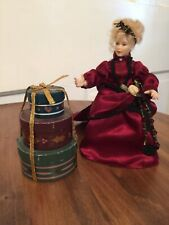 Miniature Dollhouse 1:12 Hat Boxes Set of 3