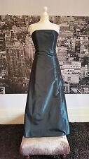 Taffeta Dress (Ocean Blue), Bridesmaid,Prom, Ball, Cruise, Cocktail, Black Tie ,