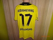 "Borussia Dortmund Original Puma Trikot 13/14 ""EVONIK"" + Nr.17 Aubameyang Gr.XXL"