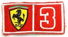Toppa Patch Scuderia Ferrari cm 8,3 x 4,5