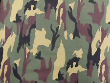 CAMOUFLAGE ARMY DPM PATTERN COTTON FABRIC MATERIAL. 148cm x 100cm