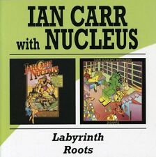 IAN & NUCLEUS CARR - LABYRINTH/ROOTS 2 CD NEW