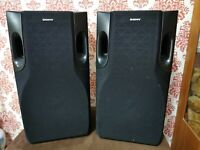 SONY Germany Bookshelf Floor 110W Black Wooden 48cm 2.0 Speakers System SS-LB355