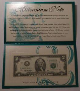 1995 $2 Star Millennium Note San Francisco 2229