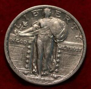 1919 Philadelphia Mint Silver Standing Liberty Quarter