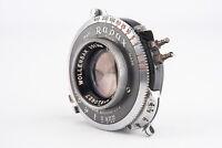 Wollensak Raptar 101mm f/4.5 Large Format Lens in Rapax Shutter PARTS REPAIR V10
