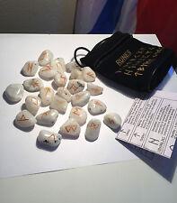 Rainbow Moonstone Crystal Rune Set  ~SALE~