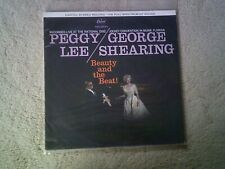 "Peggy Lee / George Shearing ‎– Beauty And The Beat! Vinyl 12"" LP UK T1219 1959"
