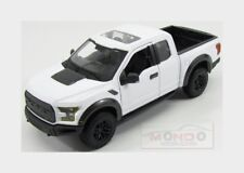 Ford Usa F-150 Raptor Pick-Up 2017 White Maisto 1:24 MI31266WH