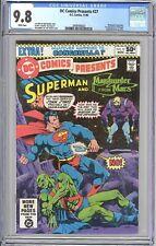 DC Comics Presents #27 CGC 9.8 1980 1st App Mongul Suicide Squad Movie Villain