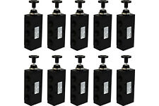 10x Hand Push Pull Pneumatic Air Control Valve 5 Port 4 Way 2 Position 1/2