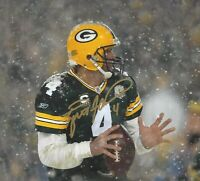 Brett Favre Packers Signed Autographed 8X10 Photo HOF REPRINT