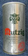 Vintage Mutzig Albra 67 Export Straight Steel Beer Can Foreign France Tab Bo