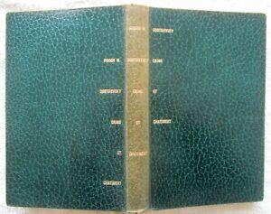 F.M. Dostoïevski /// Crime et Châtiment * Club Français Livre 1957 Ex No 818