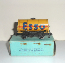 Hornby Dublo 3-Rail DR304 'Buff Esso' Tank Wagon *Pale Blue 1939 Box*