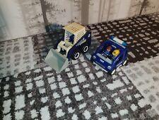 Playmobil THW Compact chargeur (4089) + Leadership véhicule (4090) (Skid Steer Loader)