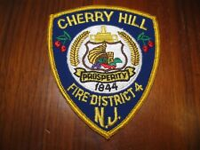 CHERRY HILL NEW JERSEY FIRE PATCH