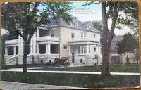Independence, KS 1908 Postcard: Harry Sinclaire Residence - Kansas Kans