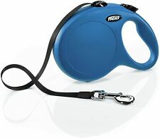 Flexi New Classic Large Tape Leash in Blue 26 ft Dogs Up to 110 lb. #473