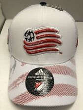 NEW ENGLAND REVOLUTION ADJUSTABLE MLS  ADIDAS MEN'S HAT RED/WHITE NAVY