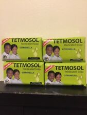 4 X Tetmosol Medicated Soap Citronella LOT OF 4 SOAPS. USA SELLER